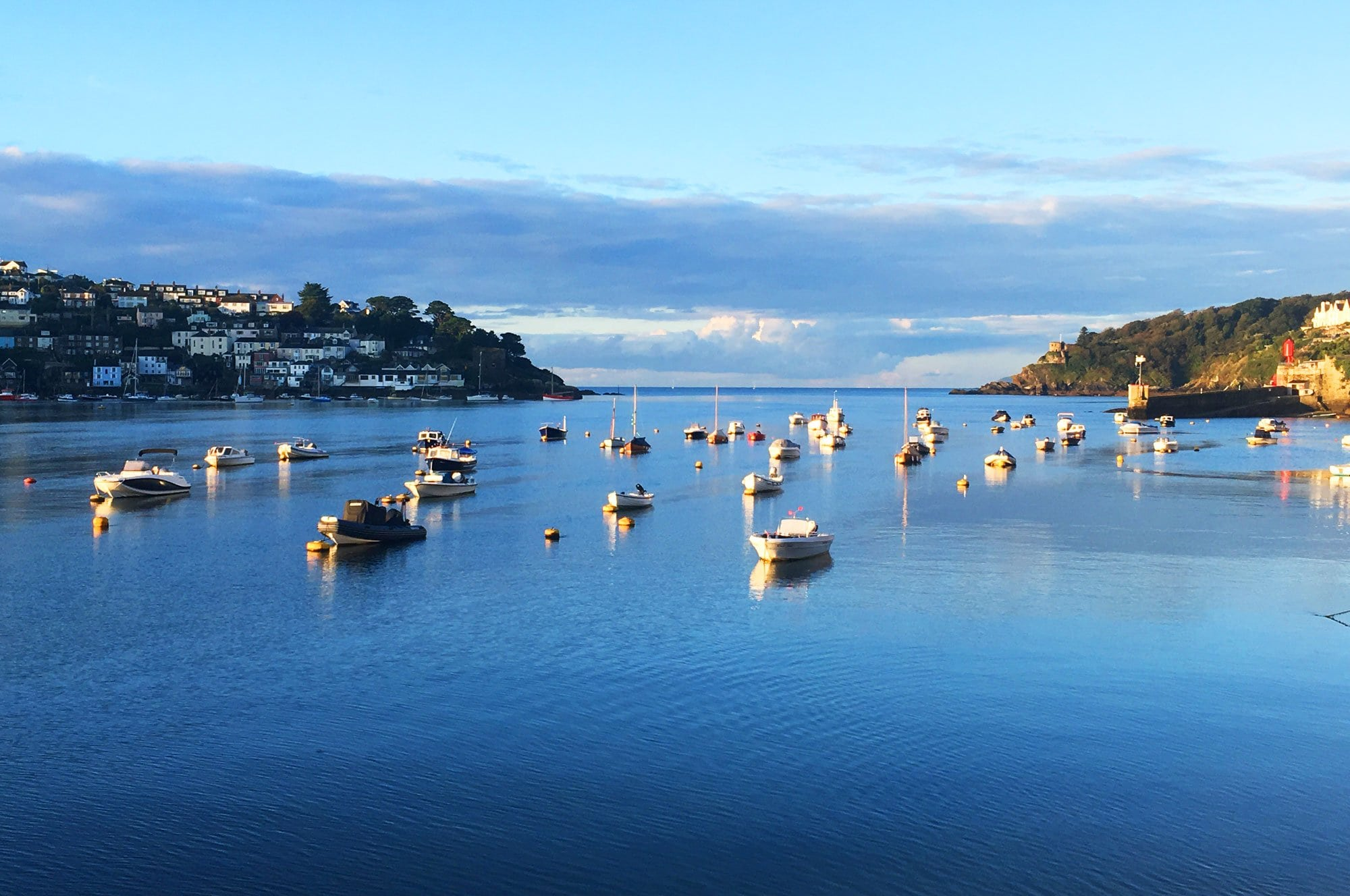 Fowey Cottages - View of Fowey Harbour